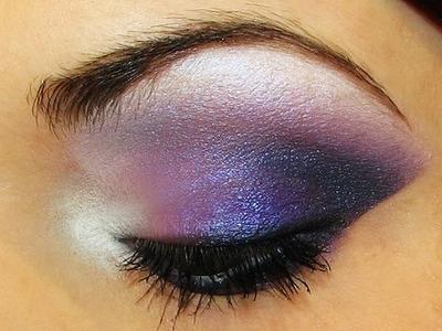 Dramatic Purple Smokey Eyes Makeup Tutorial by MissChievous