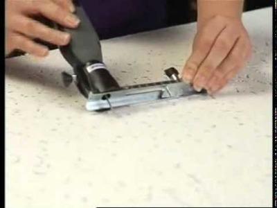 DREMEL Cutting A Circle in Ceiling Tile - Origo DIY Tools