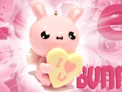◕‿◕ LoveBunny! Kawaii Friday 111 - Tutorial in Polymer clay!