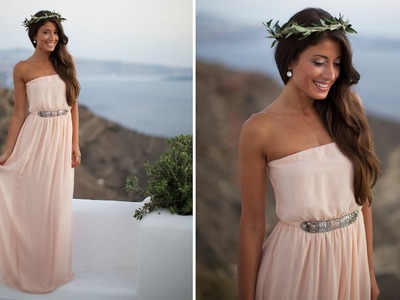 Easy Halloween Costume: Greek Goddess