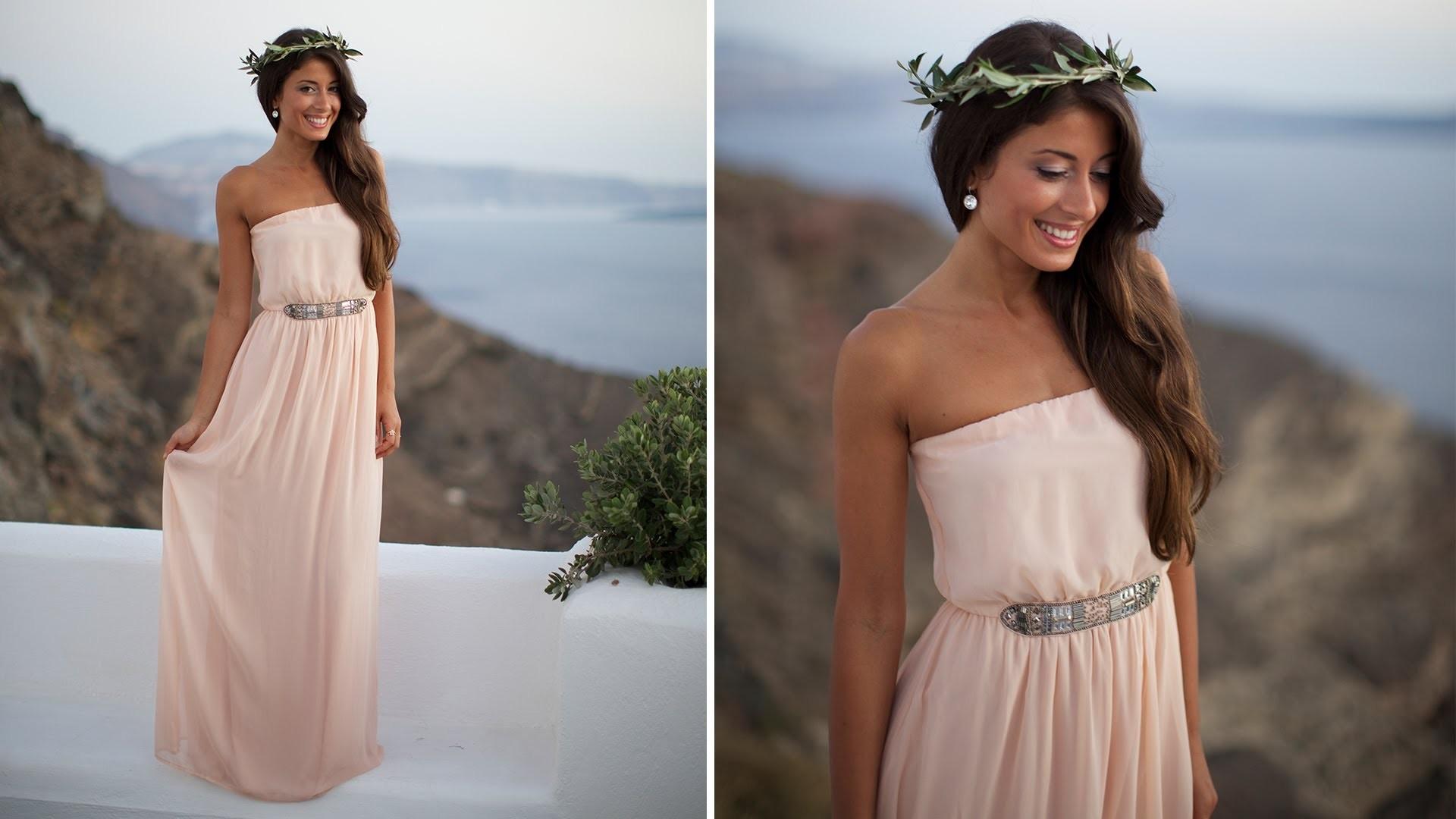 Easy Halloween Costume: Greek Goddess