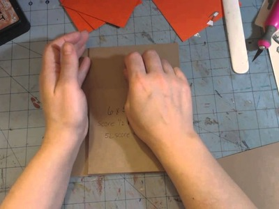 Family mini album tutorial