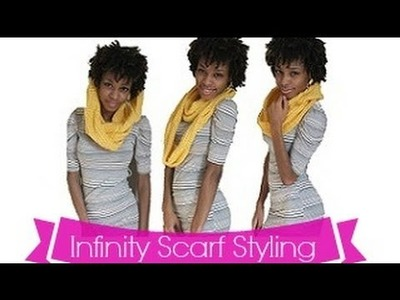 ™|Fashion| How to wear an Infinity Scarf |YCAF|