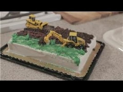Fun Meals for Kids : Construction Cake Decorating Ideas for Kids