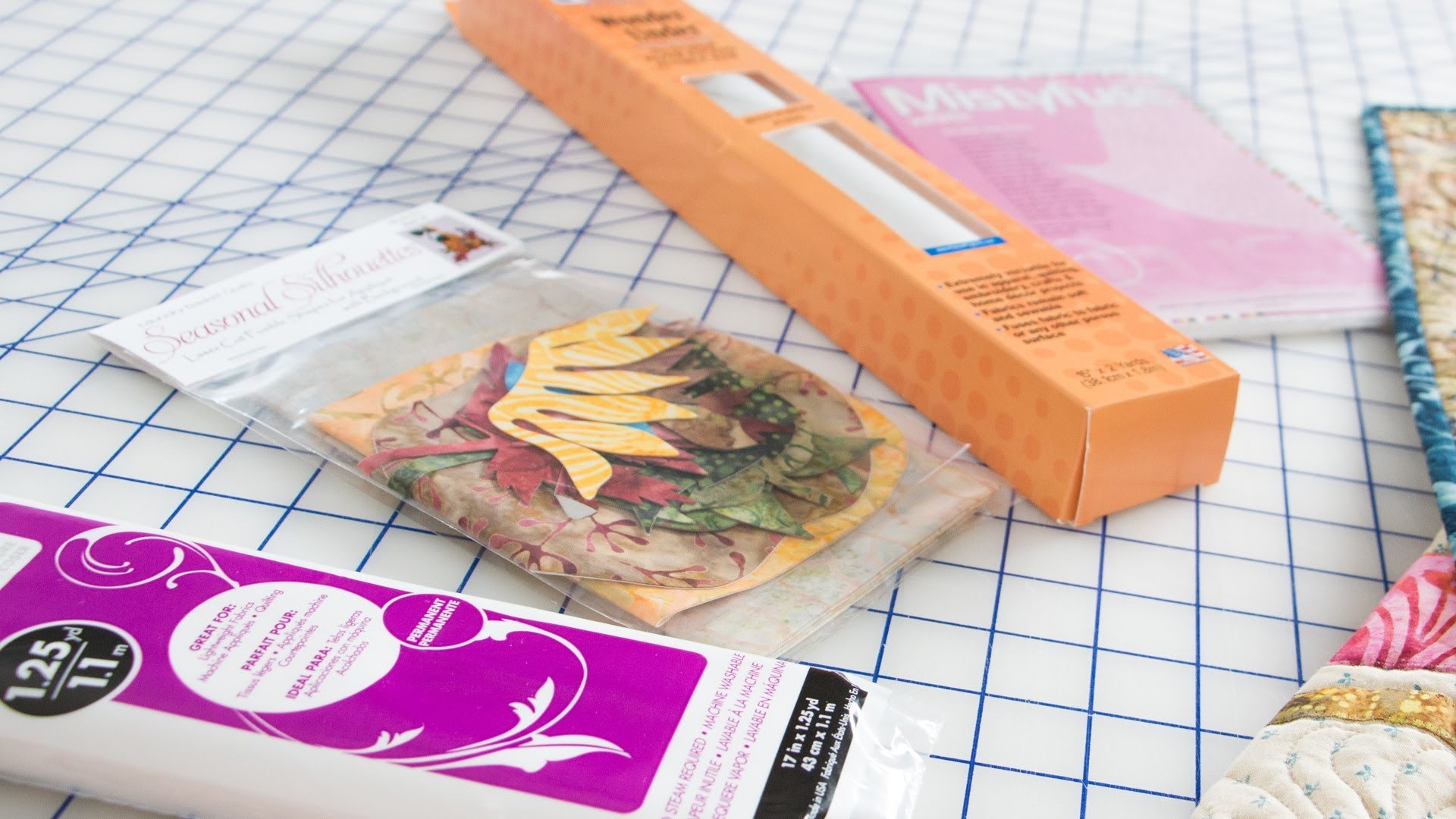 How to Choose Fusible Webbing for Your Applique Quilts by Edyta Sitar -- Fat Quarter Shop
