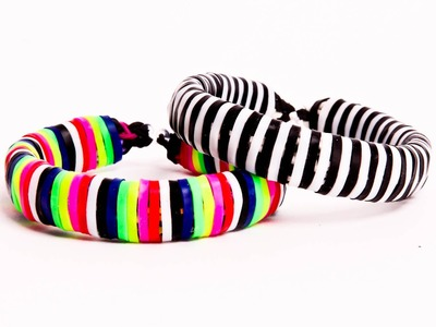 How to Make a Alpha Band Bangle Bracelet
