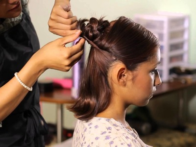 How to Make a Bun With Short Hair : Tress to Impress