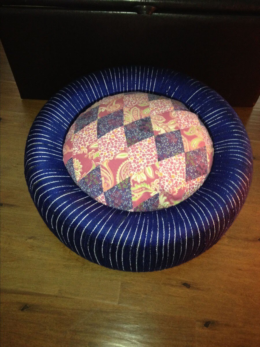 How to make a chair out of an old tire