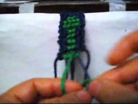 How To Make a friendship Bracelet With The Treat-2
