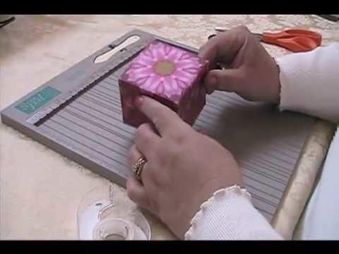 How to make a kaleidoscope Box