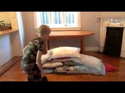 How to make a pillow fort