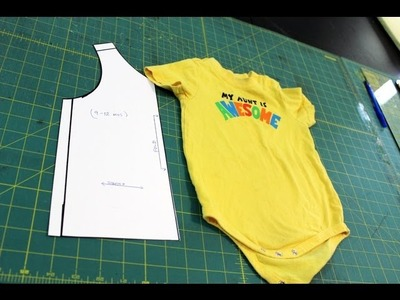 How to Make a Tank Top pattern from a Onesie