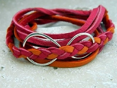 Jewelry How To - Make an Infinity Wrap Bracelet