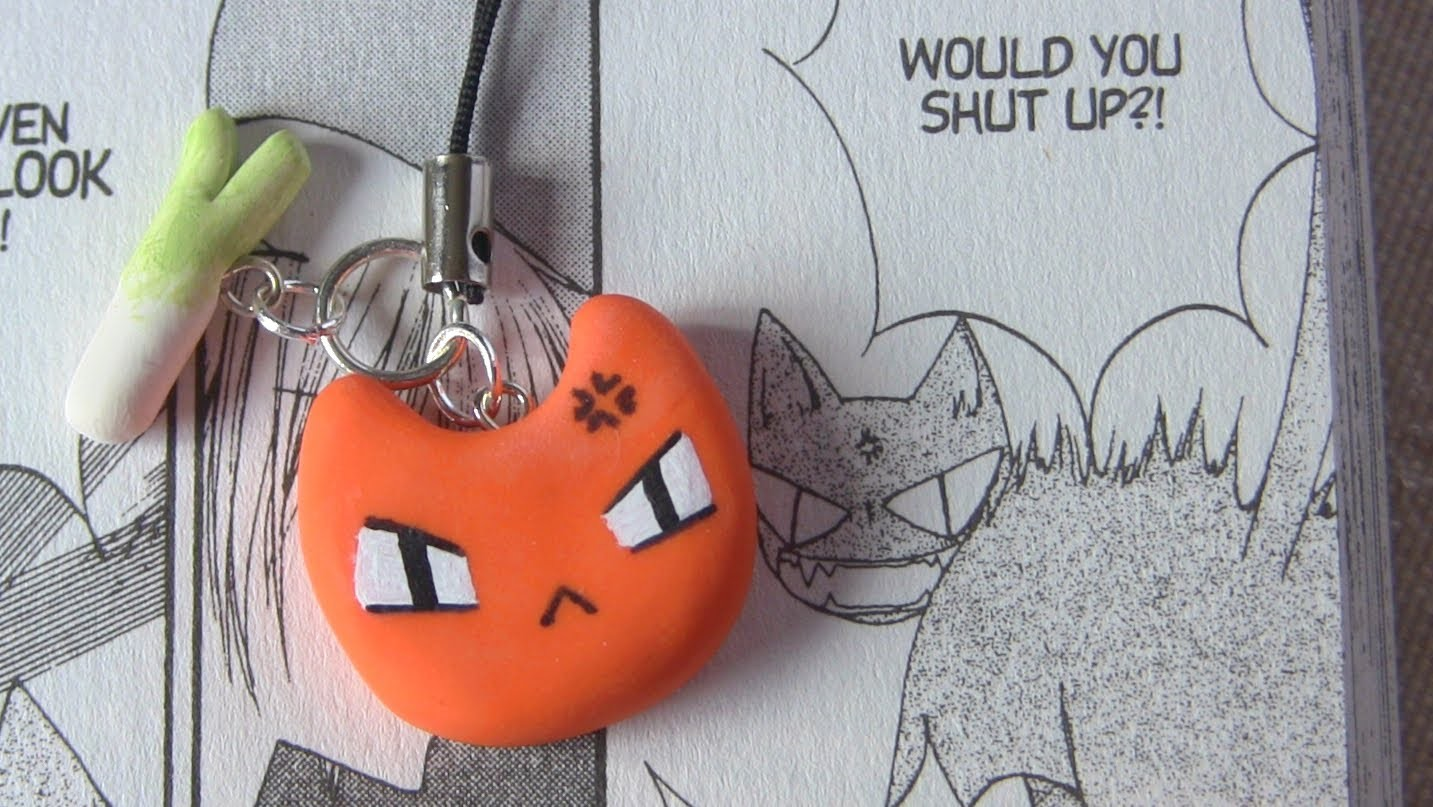 Kyo Cat Polymer Clay Tutorial ● Fruits Basket Anime