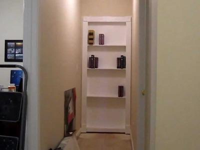 My DIY hidden door