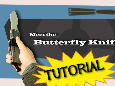 TF2 Spy's LEGO Butterfly Knife - TUTORIAL