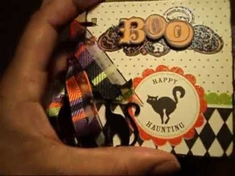 Bind It All Mini Series: Halloween Paper Bag Album