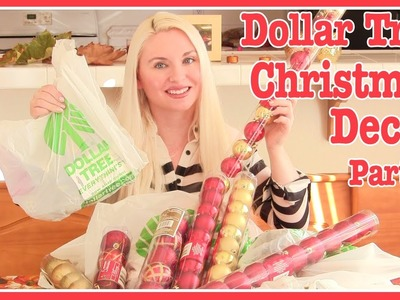 Dollar Tree Christmas Decor Haul Pt 1 | Home Ever After