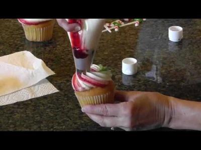 Easy Christmas Cupcake Decorating Ideas