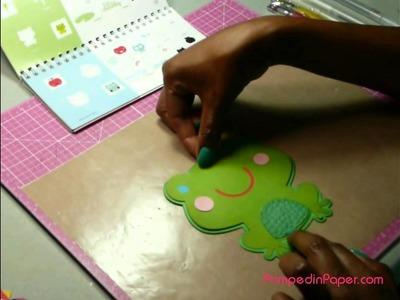 Hoppy Birthday - Shape Card Tutorial