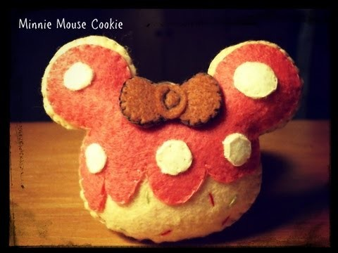 How To Make A Minnie Mouse Cookie Plushie Tutorial