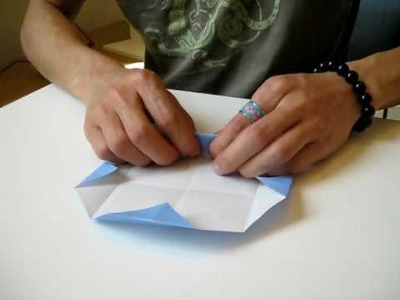 How to make a paper fortune boat