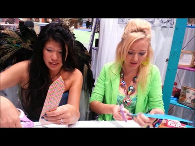 How to make Duct Tape Feathers with Elena Lai Etcheverry and Marisa Pawelko