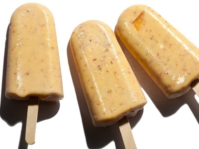 How to Make Easy Peaches 'n' Cream Ice Pops - The Easiest Way