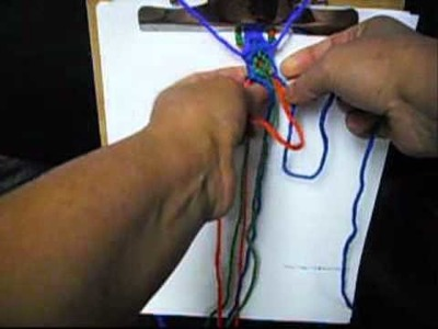 How To Make The Egyptian friendship Bracelet.