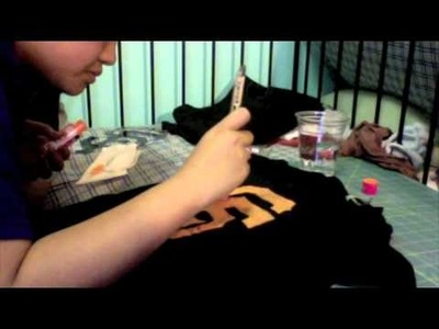 How to make your own personalized shirt!