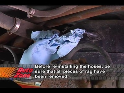 How To Remove The Fuel Tank