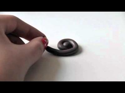 Miniature Polymer Clay Poop Tutorial