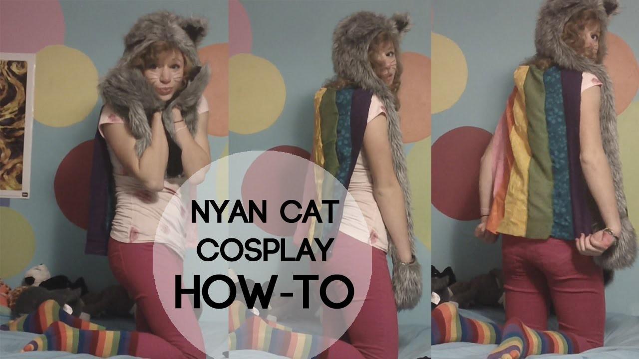 NYAN CAT COSTUME HOW-TO!