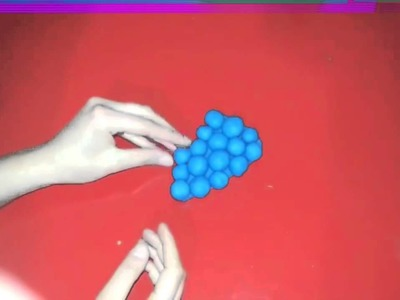 Play Doh How To Make Fruits ( Grapes )