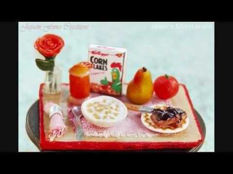 Polymer Clay Dollhouse Miniature Food