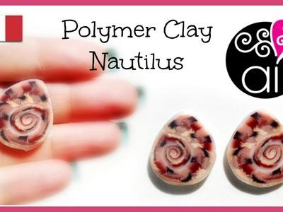 Polymer Clay Tutorial | Murrina Ammonite | Nautilus Cane