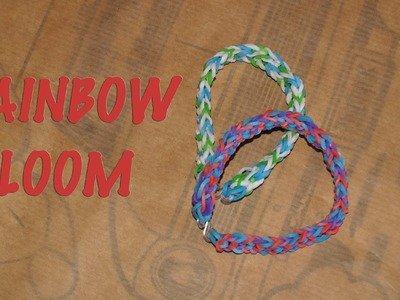 Rainbow Loom invertida | Tutorial DIY