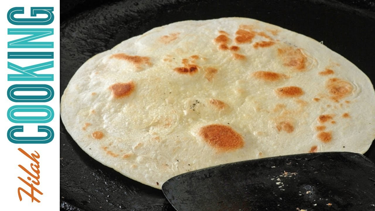 Tortilla Recipe - How To Make Homemade Flour Tortillas