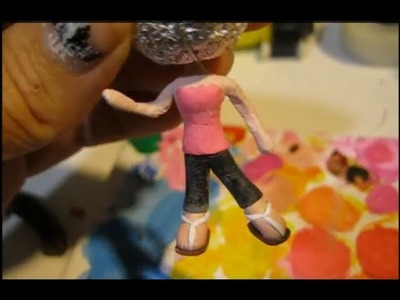 Tutorial: Chibi body made with Polymer Clay (anime.manga style)