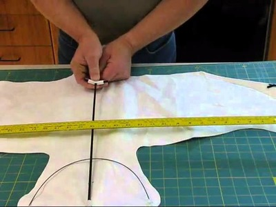 Tyvek Star Bird Kite Kit - Step 17 Complete Framing - Insert Cross Spars