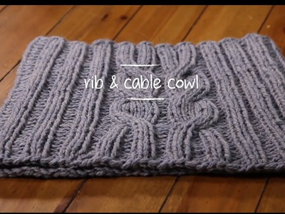 1 Hour Project: Cowl with Stefanie Japel