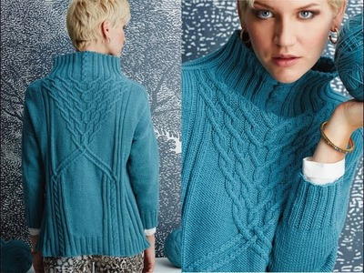 #7 Funnel-Neck Turtleneck, Vogue Knitting Fall 2014