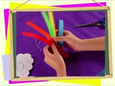 Art project: Paper Rainbow Craft