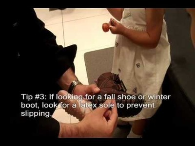 Back to School Shoe Fitting Tips