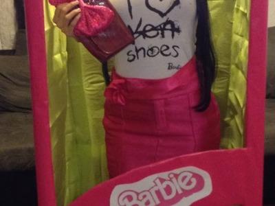 Barbie And Box Costume Tutorial