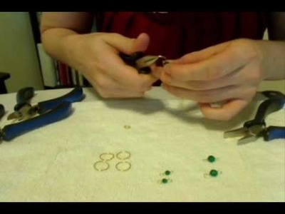 Beaded Bracelet Tutorial - Jump Ring and Clasp Tutorial