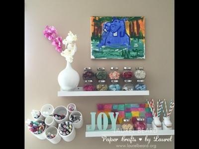 Craft Room Tour   Ikea! Storage Ideas, Organizational ideas