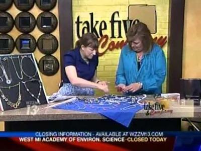 CraftSanity.com: Making hardware jewelry