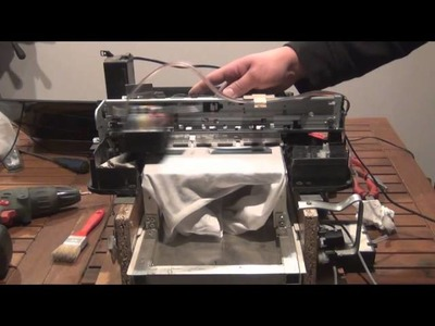 Direct to Garment Printer - DIY DTG for less than $50