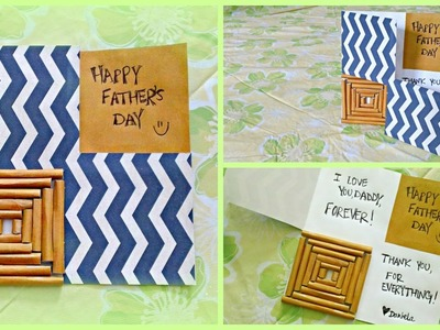 DIY Father's Day Gifts! Father's Day Card